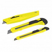 Rondy 2 cutters 9t 18 mm + 1 couteau universel