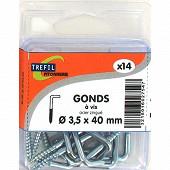 Trefilaction gond AZ 3.5X40