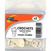 Crochets special beton m modele