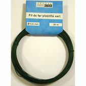 Trefilaction  botillon fil plastifié vert 20MX0,6