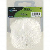 Trefilaction ficelle polypro 0,9/1 67g 45m blanc