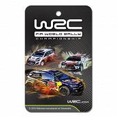 WRC plaquette désodorant 2D sport