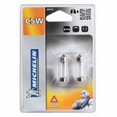 Michelin ampoules voiture 2 navettes C5W