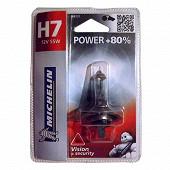 Michelin ampoule H7 power +80% 55 watts
