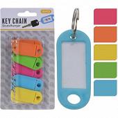 Lot de 10 porte-clés