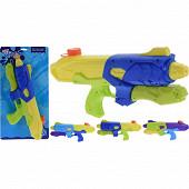 Fusil à eau avec pompe en plastique