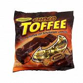 Toffee aromatisés caramel enrobés de chocolat 250 gr