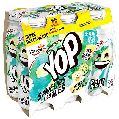 Yoplait P'tit yop aromatisé édition de saison 6x180g offre découverte