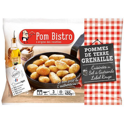 Pom Bistro Pom Bistro pomme grenaille à l'huile d'olive et au sel de guérande 450g
