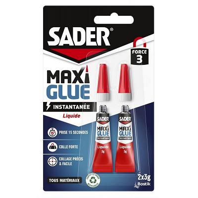 Sader Sader colle maxiglue liquide 3g x2
