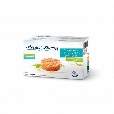 Appéti'Marine 2 tartares de saumon gourmands 140g