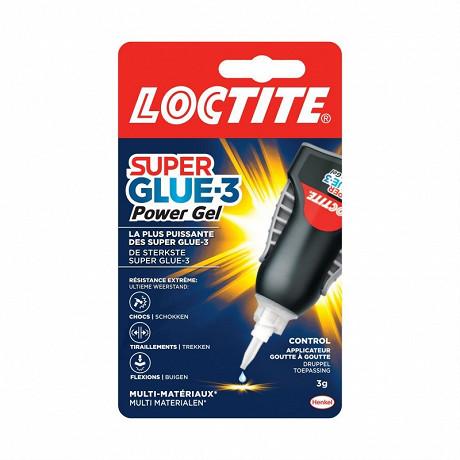 Loctite colle super glue-3 power flex gel control 3gr