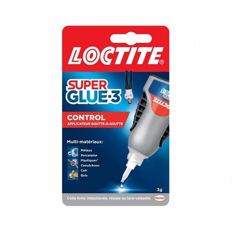 Loctite colle super-glue3 control 3 grammes