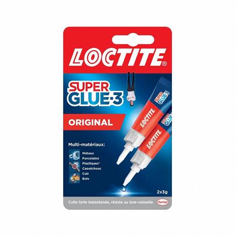 Loctite super glue-3 universal de 2 tubes de 3 grammes