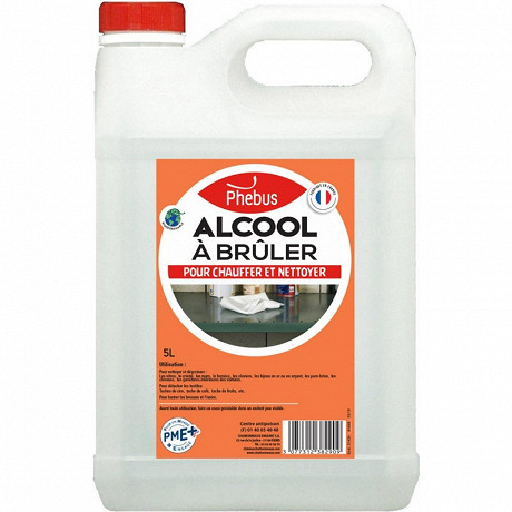 Phebus alcool a bruler 5 litres