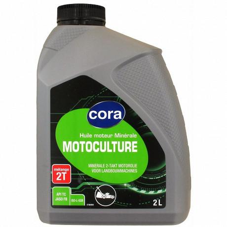 Cora huile 2 temps motoculture 2 litres
