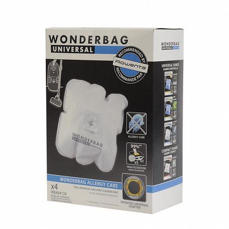 Rowenta boîte de 4 wonderbags endura WB484720