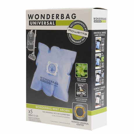 Rowenta Boîte de 5 wonderbags fresh line WB415120