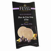 Feyel Duo gourmand bloc de foie gras d'oie au Pinot gris 2x40g