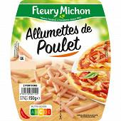 Fleury Michon allumettes de poulet 2 x 75g
