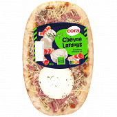 Cora pizza chèvre lardons 180g