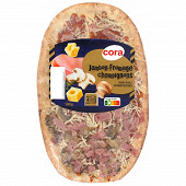 Cora pizza jambon champignons emmental 180g