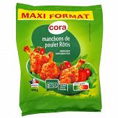 Cora manchons de poulet rôtis  500 g