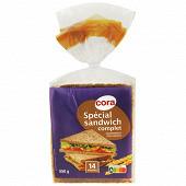 Cora pain de mie spécial sanswich complet 550g