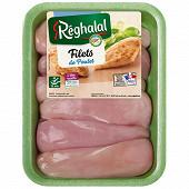 Reghalal escalopes de poulet halal x6