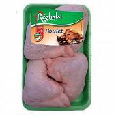 Reghalal cuisses 1/4 arrière de poulet halal x4