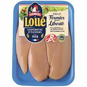 Loué filet de poulet fermier élevé en liberté x 4