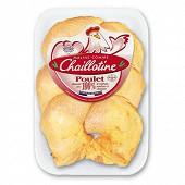 Chaillotine cuisses de poulet blanc avec dos  x6