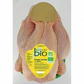 Nature bio poulet fermier du Maine bio prêt à cuire