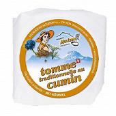Tomme cumin moleson 130g  21%mg/pt