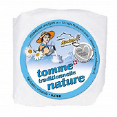 Tomme moleson nature 130g 24%mg/pt