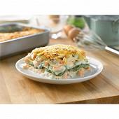 Lasagne au saumon épinards 400g