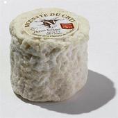 Biquette du ch'ti fermier saveurs en or 120g 10%mg/pt fab nord (59) lait cru de chèvre