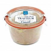 Foie gras de canard entier du quercy bocal weck 280g