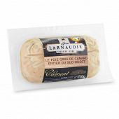 Foie gras de canard du sud ouest au rhum Clement lobe 220g