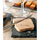Foie gras canard entier so cuisson douce 395g maison montfort