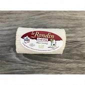 Rondin d'alvignac lait cru 120g,22.5%mg/poids total