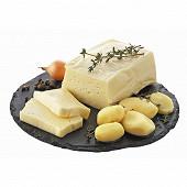 Tome fraîche de l'Aubrac au lait cru 500g - 27%mg/poids total