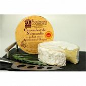 Camembert au lait cru aop 250g  Patrimoine gourmand au lait cru de vache