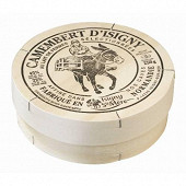 Camembert pyrogravé au lait microfiltré 250g Isigny Ste Mère