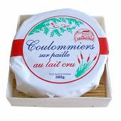 Coulommiers sur paille 380g lait cru