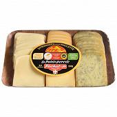 3 fromages pour raclette la pointe percée 550g lait thermisé