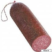 Salami pur porc boyau artificiel