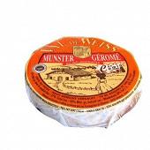 Munster géromé cumin aop  lait pasteurisé de vache 27% mg