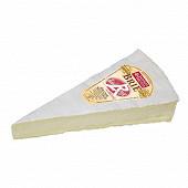 Brie label rouge au lait thermisé 3/4 affiné Paysan breton