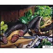 Saucisse noire de la fôret noire